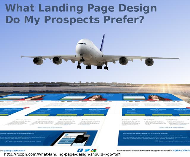 LandingPageDesign What Landing Page Design Should I Go For?